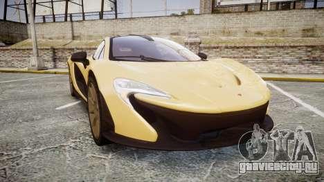 McLaren P1 [EPM] для GTA 4