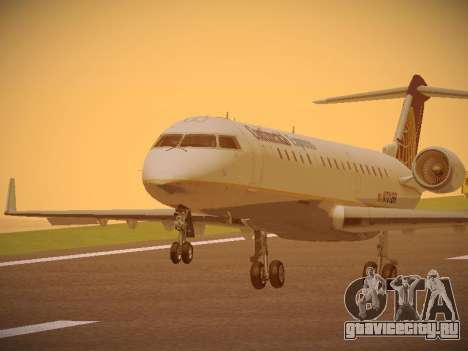Bombardier CRJ-700 Continental Express для GTA San Andreas