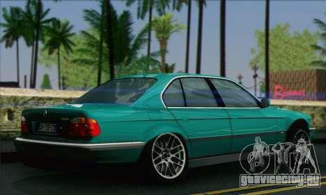 BMW 7-series для GTA San Andreas вид слева