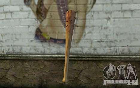 Nail Bat from Beta Version для GTA San Andreas