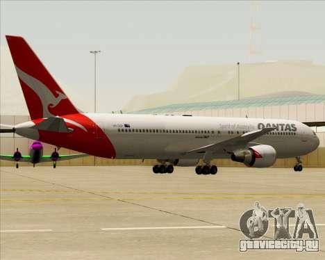 Boeing 767-300ER Qantas (New Colors) для GTA San Andreas