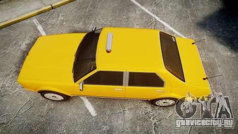 Albany Romans Taxi для GTA 4 вид справа