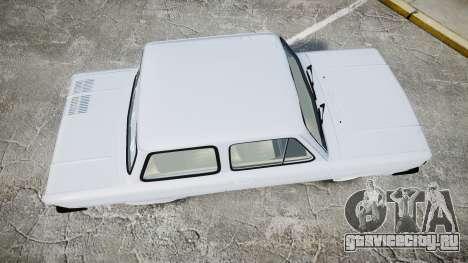 ЗАЗ-968 для GTA 4 вид справа