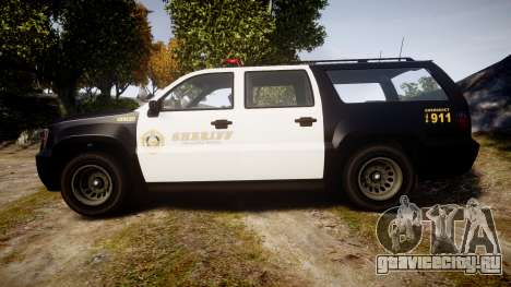 GTA V Declasse Granger LSS Black [ELS] для GTA 4