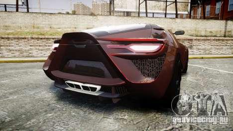 Bertone Mantide 2009 для GTA 4 вид сзади слева