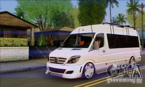 Mercedes-Benz Sprinter Servis для GTA San Andreas