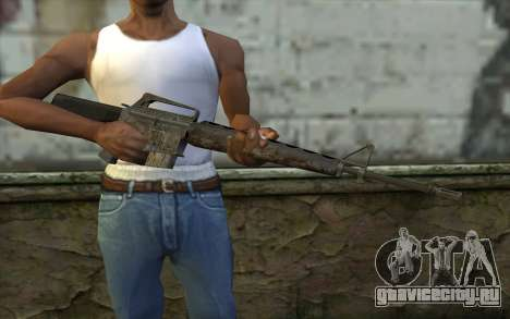 M16A1 from Battlefield: Vietnam для GTA San Andreas третий скриншот