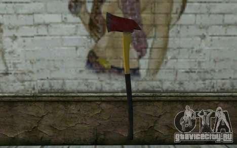 Пожарный топор (DayZ Standalone) v1 для GTA San Andreas