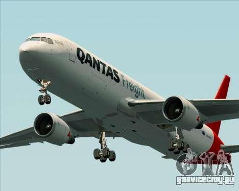 Boeing 767-300F Qantas Freight для GTA San Andreas вид слева