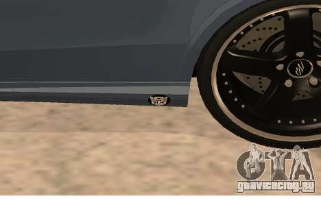 Mercedes-Benz W212 (Wheeljack from TF 3) для GTA San Andreas вид сзади