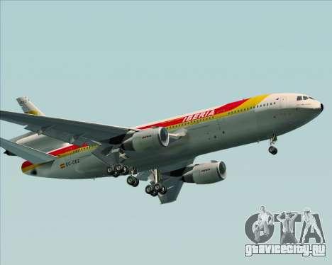 McDonnell Douglas DC-10-30 Iberia для GTA San Andreas колёса