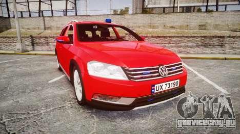 Volkswagen Passat 2014 Unmarked Police для GTA 4