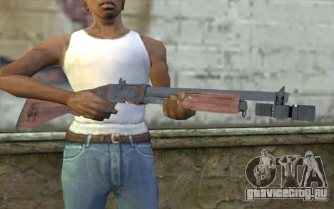 Shotgun from Primal Carnage v1 для GTA San Andreas третий скриншот