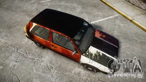 Volkswagen Golf GTI Mk2 Budget Street Cred для GTA 4 вид справа