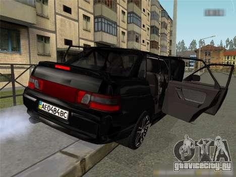 Ваз 2110 XN для GTA San Andreas вид слева