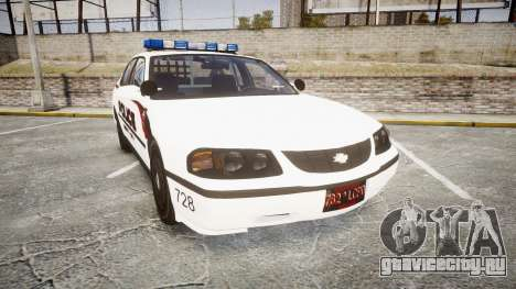 Chevrolet Impala 2003 Liberty City Police [ELS] для GTA 4