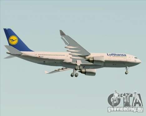 Airbus A330-200 Lufthansa для GTA San Andreas вид справа