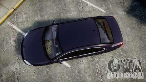 Chevrolet Impala 2010 Undercover [ELS] для GTA 4 вид справа