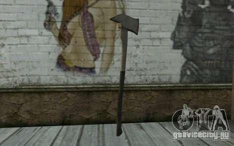 Пожарный топор (DayZ Standalone) v3 для GTA San Andreas второй скриншот