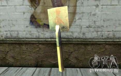 Немецкая лопата для GTA San Andreas второй скриншот