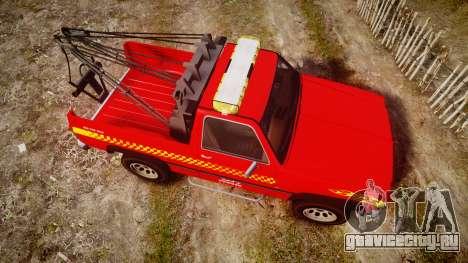 Declasse Rancher Towtruck [ELS] для GTA 4 вид справа