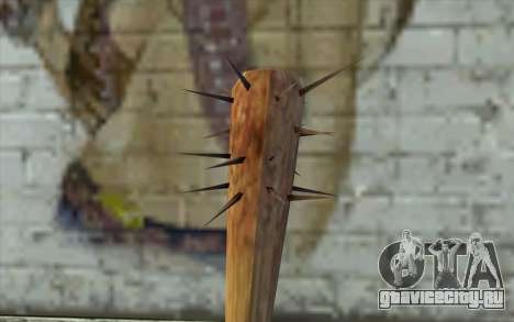 Nail Bat from Beta Version для GTA San Andreas второй скриншот