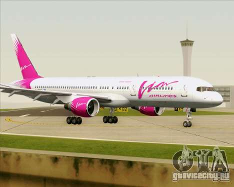 Boeing 757-230 VIM Airlines (ВИМ-Авиа) для GTA San Andreas вид сбоку