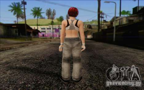 Mila 2Wave from Dead or Alive v11 для GTA San Andreas второй скриншот