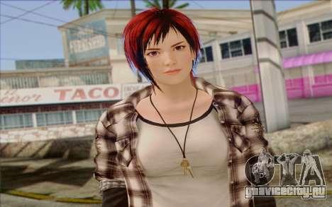 Mila 2Wave from Dead or Alive v10 для GTA San Andreas третий скриншот