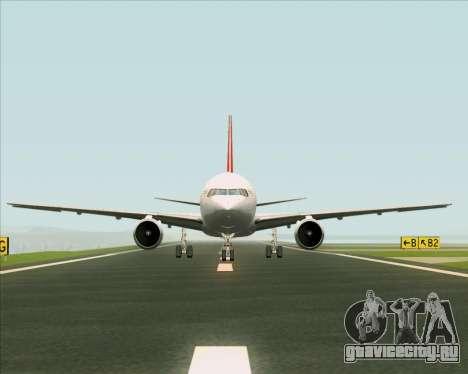 Boeing 767-300F Qantas Freight для GTA San Andreas салон