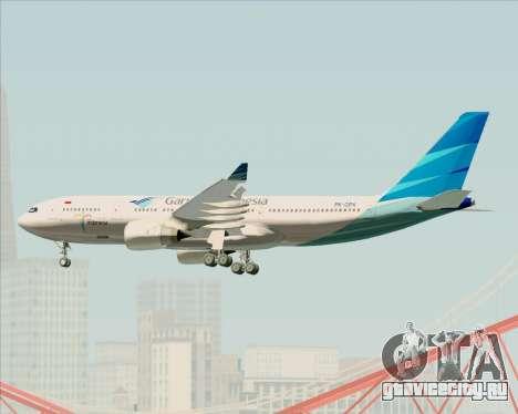 Airbus A330-243 Garuda Indonesia для GTA San Andreas вид сбоку