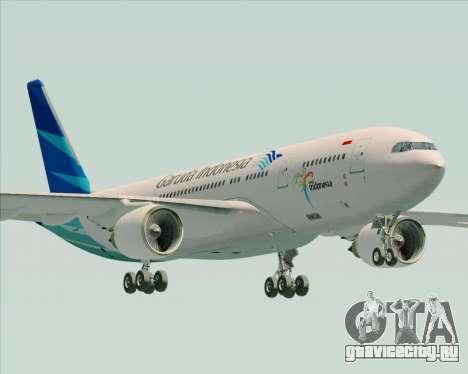Airbus A330-243 Garuda Indonesia для GTA San Andreas