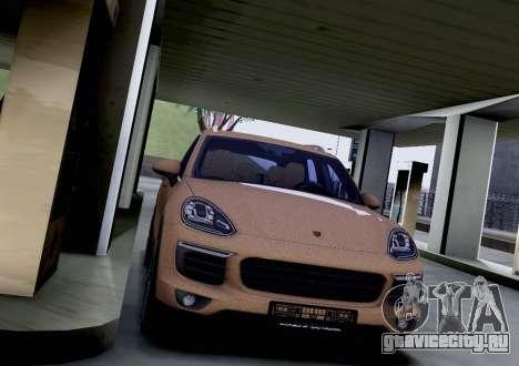 Porsche Cayenne 2015 для GTA San Andreas