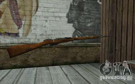 Винтовка Мосина v13 для GTA San Andreas второй скриншот
