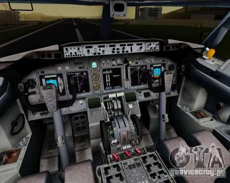 Boeing 737-800 Orbit Airlines для GTA San Andreas салон