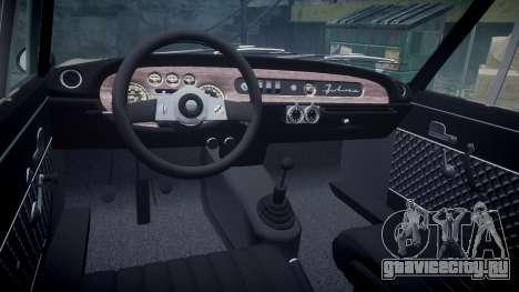 Lancia Fulvia HF (Camber) для GTA 4 вид сзади