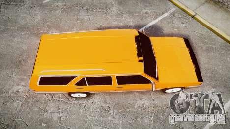 Tofas Kartal SLX Taxi для GTA 4 вид справа