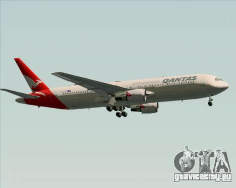 Boeing 767-300ER Qantas (New Colors) для GTA San Andreas вид сверху