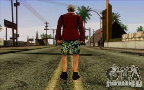 Член отряда IAЫ Skin 1 для GTA San Andreas второй скриншот