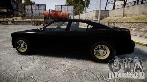 GTA V Bravado FIB Buffalo [ELS] для GTA 4 вид слева