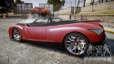 GTA V Grotti Cheetah для GTA 4 вид слева