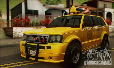 VAPID Huntley Taxi (Saints Row 4 Style) для GTA San Andreas