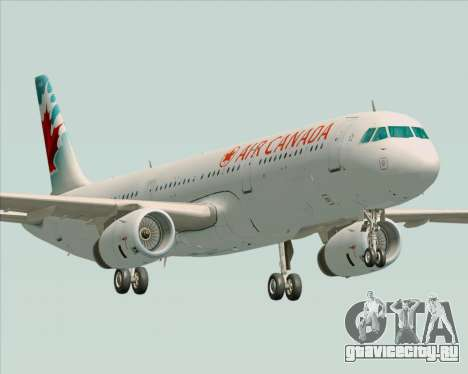 Airbus A321-200 Air Canada для GTA San Andreas