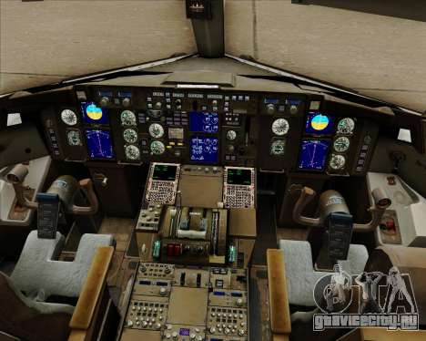 Boeing 757-230 VIM Airlines (ВИМ-Авиа) для GTA San Andreas салон