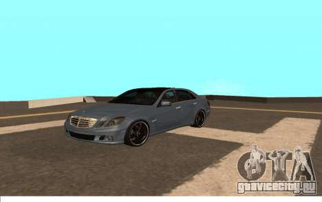 Mercedes-Benz W212 (Wheeljack from TF 3) для GTA San Andreas