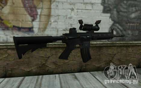 HK416 (Bump mapping) v2 для GTA San Andreas второй скриншот
