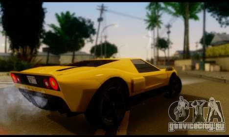 GTA 5 Bullet для GTA San Andreas вид слева