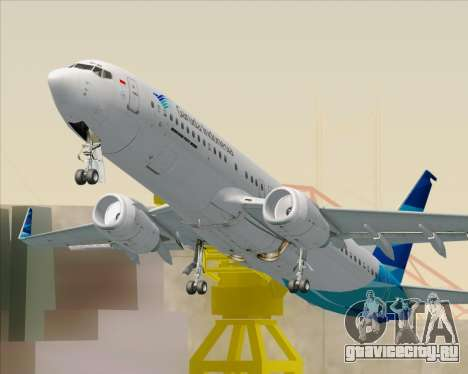 Boeing 737-800 Garuda Indonesia для GTA San Andreas