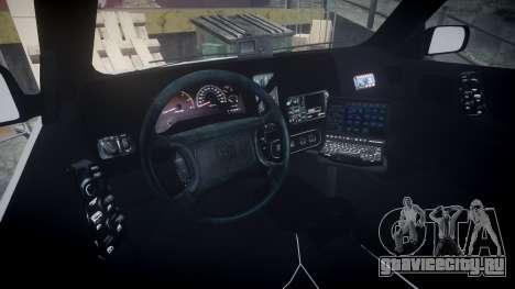 Dodge Durango 2000 Undercover [ELS] для GTA 4 вид сзади