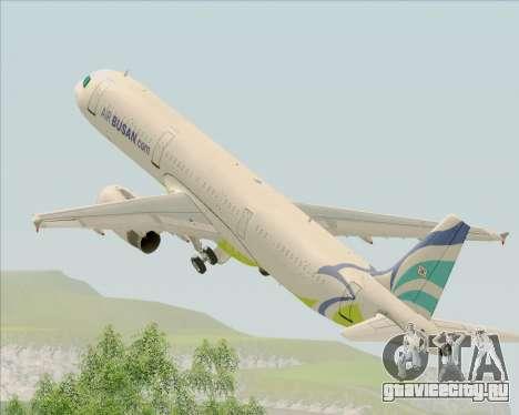 Airbus A321-200 Air Busan для GTA San Andreas